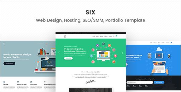 Digital Hosting Marketing WordPress Theme