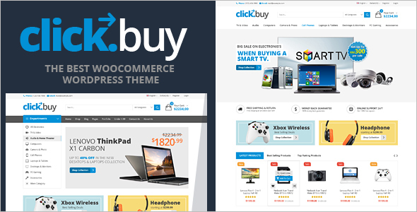 Digital WooCommerce WordPress Template