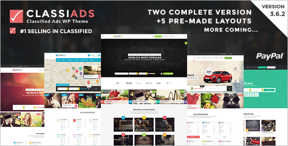 Directory & Listings Classifed WordPress Theme