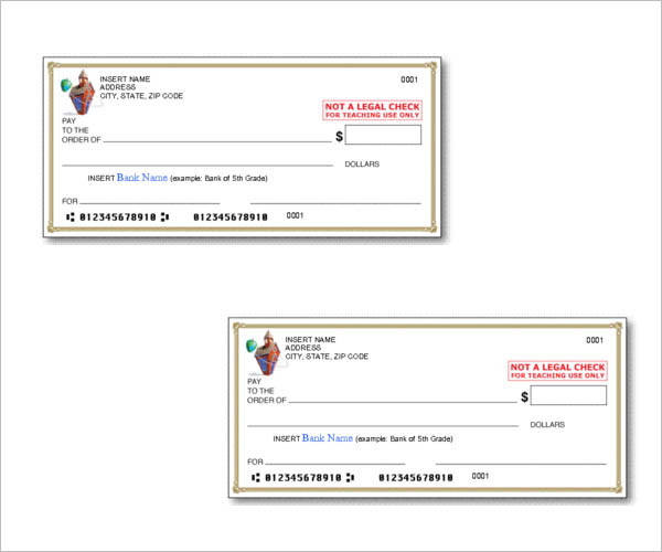 Download Blank Check Templates For Microsoft Word Here