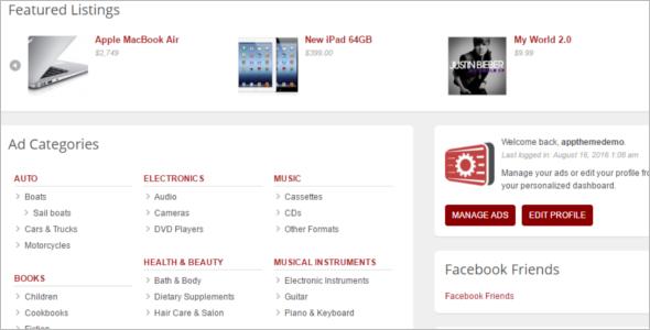 Download Classified WordPress Theme