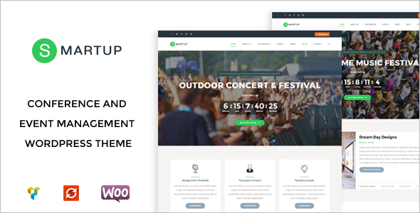 Download Entertainment WordPress Template