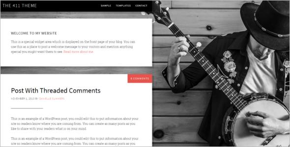 Download Genesis WordPress Template