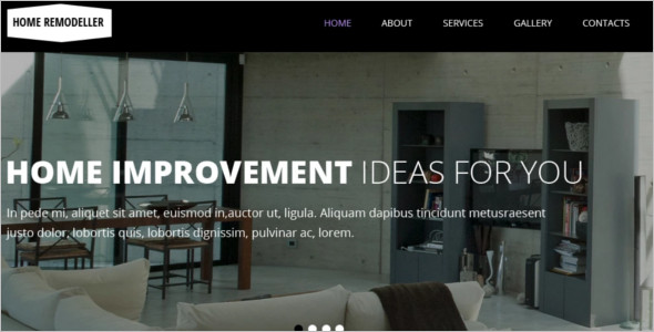 Download Interior Design WordPress Theme