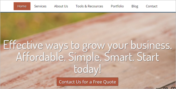 Download Socal Media Website Template