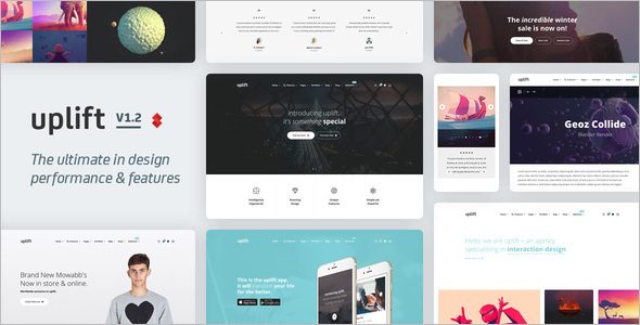 E-commerce Business WordPress Template