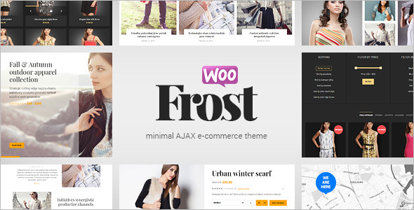 E-commerce Dark WordPress Template