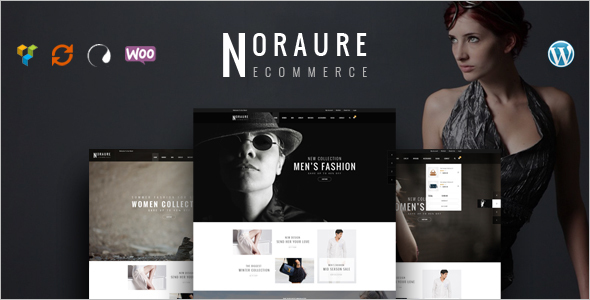 E-commerce Layout Website Template
