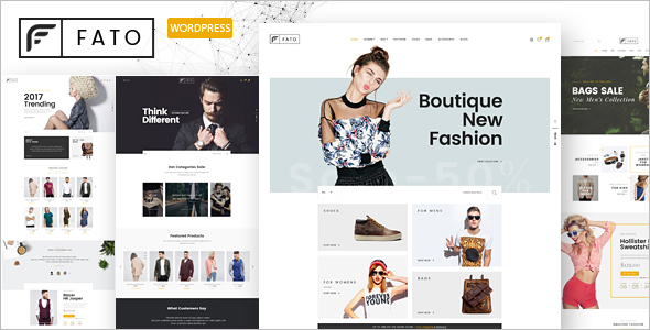 E-commerce WooCommerce WordPress Theme