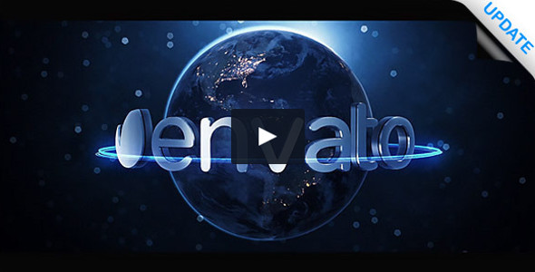 Earth Logo FullHD Video Tutorial