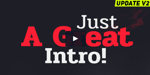 Easy to Customize Typography Promo Video