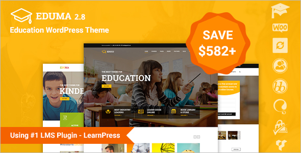 Eduction WordPress Sell Template