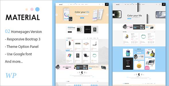 Electronics WooCommerce WordPress Theme