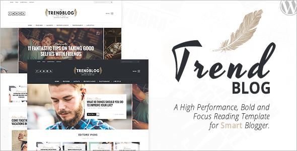 Elegant Blog WordPress Template