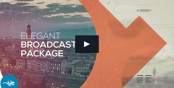 Elegant Broadcast Package Video Template