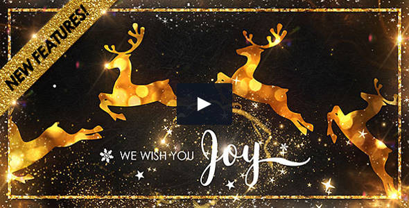 Elegant Christmas HD Resolution Video Template