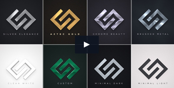 Elegant Logo Reveals Pack Video Tutorial