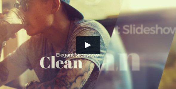 Elegant Slideshow Dynamic Structure Video Template