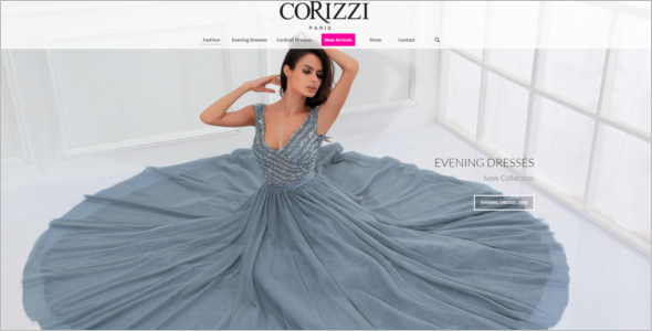 Enfold Dressing WordPress Template