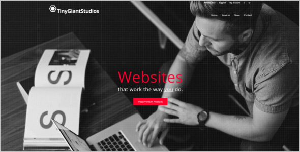 Enfold Studio WordPress Template
