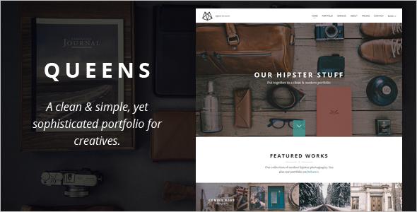 Entertainment WordPress Model Template