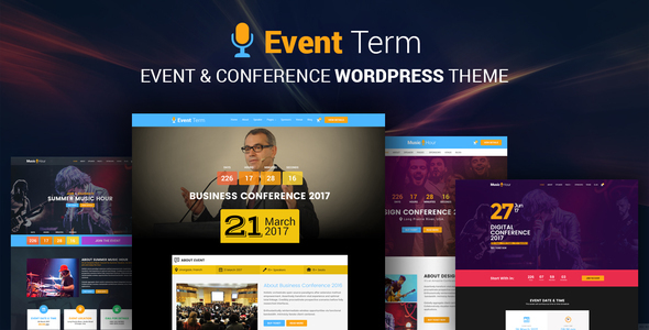 Entertauinment Conference WordPress Theme