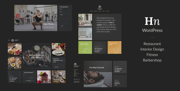 Experimental Dark WordPress Template