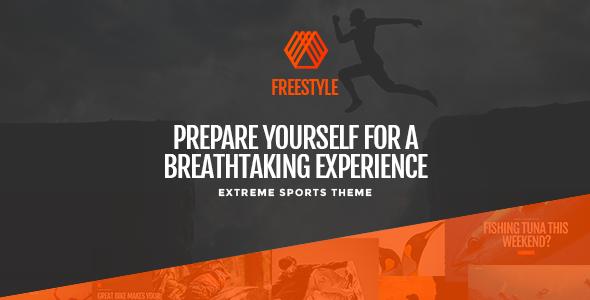 Extreme Sports WordPress Template
