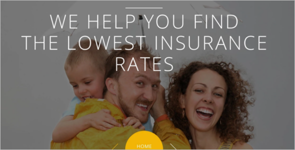 Family Insurance Website Template
