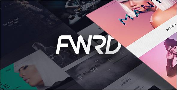 Festive Music WordPress Template