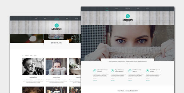 Film and Movie WordPress Theme