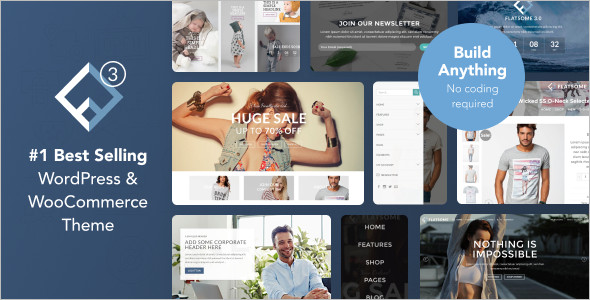 Flat Some Multipurpose WordPress Template