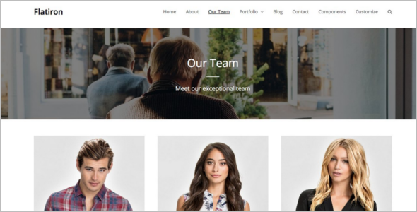 Flatiron Business WordPress Theme