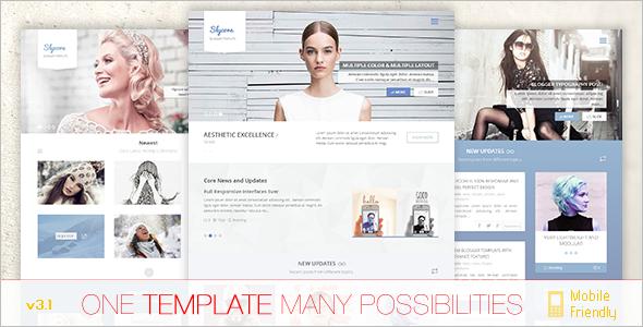Flatstrap Blogger Template