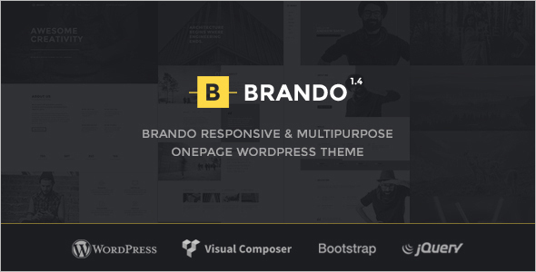 Flexible OnePage WordPress Template