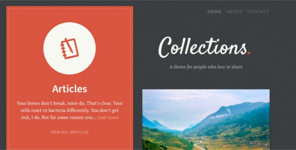 Foundry Pinboard WordPress Template