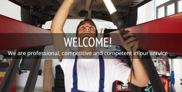 Free Free Car Repair Joomla template