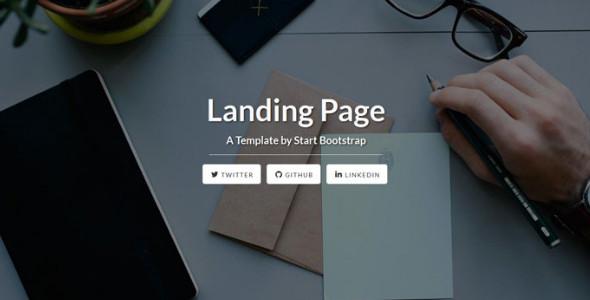 Free Landing Page Templates HTML