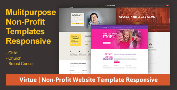 Free & Premium Non Profit Website Themes & Templates