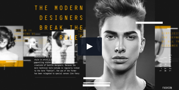 Full HD Fashion Magazine Promo Video Template