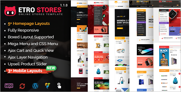 Fully New Responsive WordPress Template
