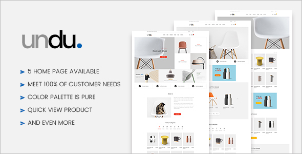 Furniture WooCommerce WordPress Theme