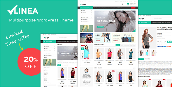 General WooCommerce WordPress Template
