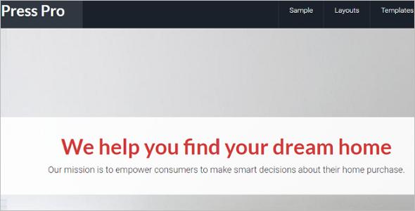 Genesis AgentPro WordPress Template