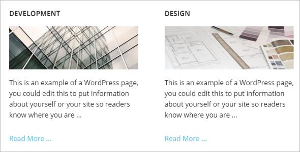 Genesis Banner WordPress Template