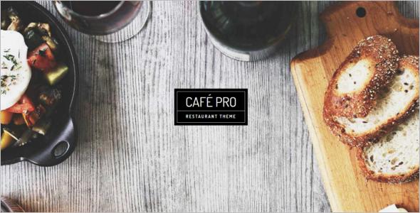Genesis Cafe Pro WordPress Template