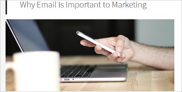 Genesis Email WordPress Template