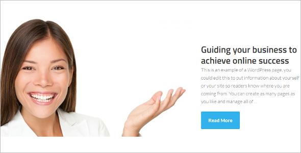 Genesis Page Layout WordPress Template