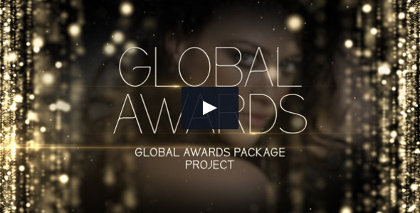 Global Awards After Effects template