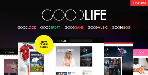 Good Music WordPess Template